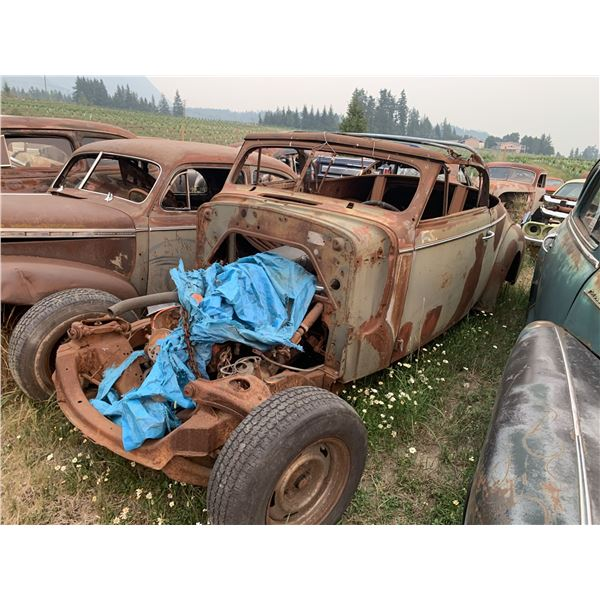 1939 Cadillac LaSale - converted to convertible or roadster project