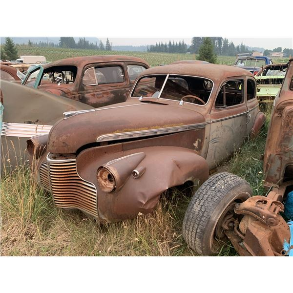 1940 Chevy - 2dr sedan, dented but solid