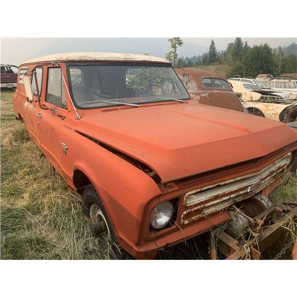 1967 Chevy Panel/Suburban - 4x4, ultra rare, runs