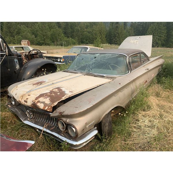 1960 Buick Electra - 2dr hardtop, awesome project (lowrider?)