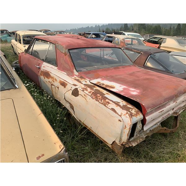 1965 Pontiac Beaumont Super Deluxe - shell, has tags