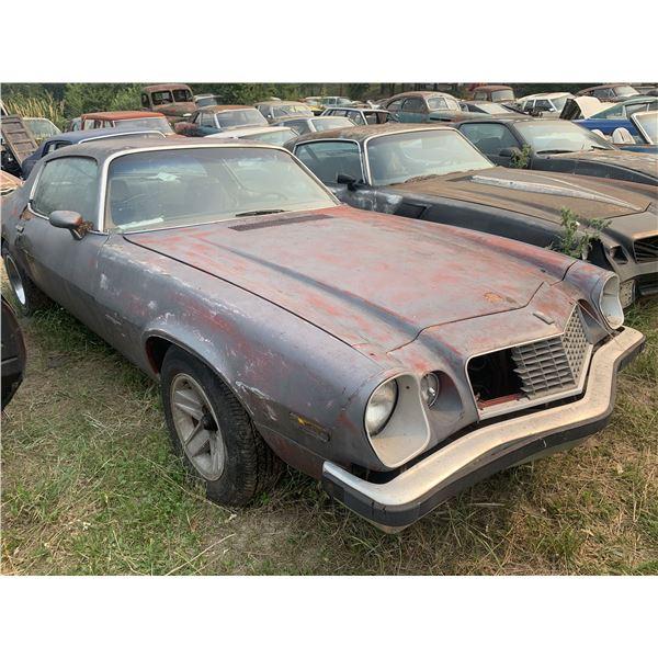1976 (?) Chevy Camaro - parts car, complete