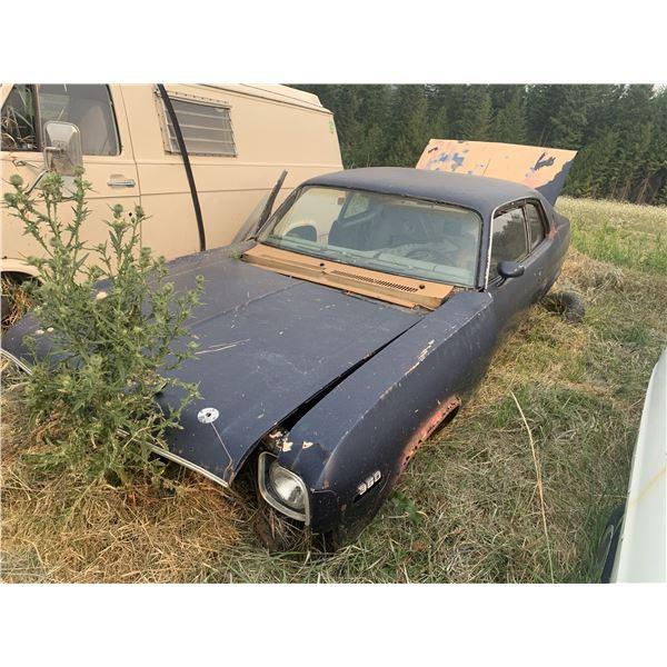 1974 Chevy Nova SS - shell, has tags, posi, very rough body
