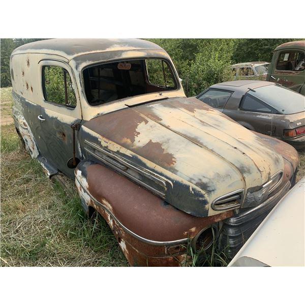 1950 Mercury Panel - cool prject