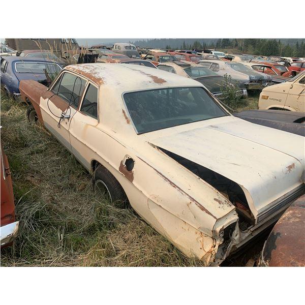 1968 Ford Custom - solid car, shell