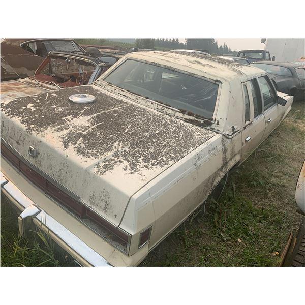 1982 Buick 4 door - parts car