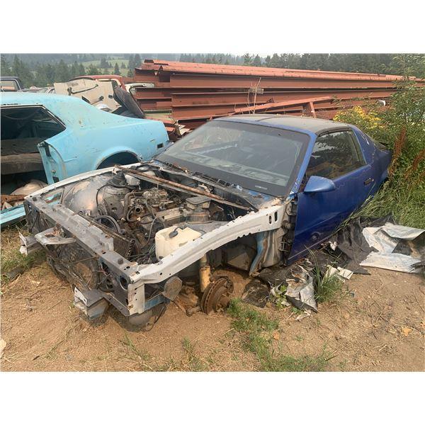 1990(?) Chevy Camaro - parts car, motor seized