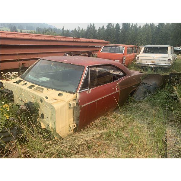 1966 Chevy Impala SS - 2dr hardtop,  shell, big block car, has tags