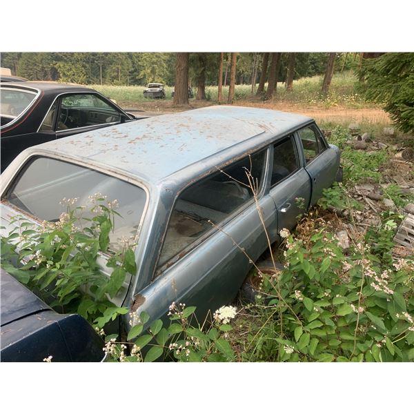 1964 Chevy Chevelle Wagon - rough but rare, no diff,  no front clip