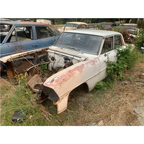 1967 Chevy Nova - 4dr shell, parts car