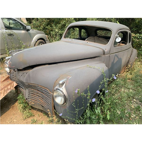 1941 Plymouth Coupe - 2dr, good body