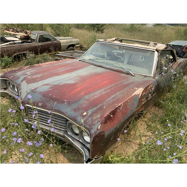 1966 Buick LeSabre Convertible, mostly complete, parts or restore