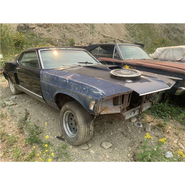 1970 Ford Mustang Mach 1 - shell, wide body, was 351 4spd car, new quarters installed, new outer tub
