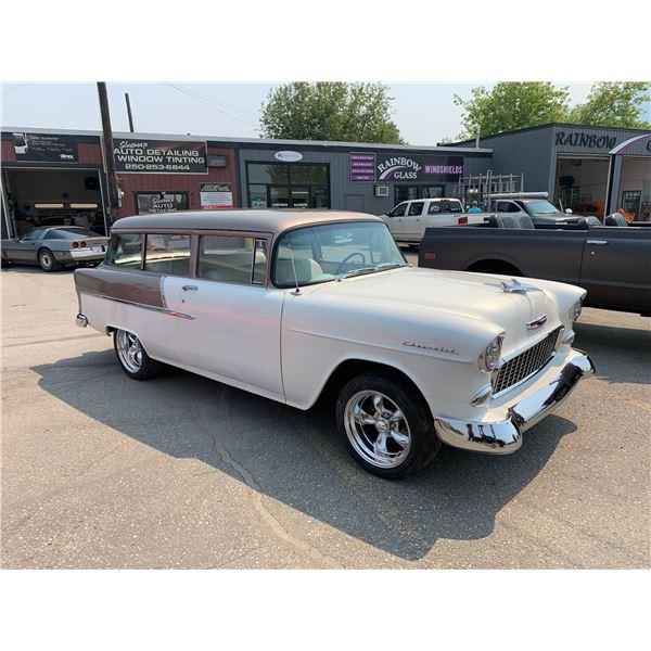 Feature Car 2 - 1955 Chevrolet   2door wagon fresh  383 stroker 400 horse