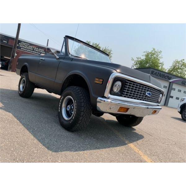 Feature Car 3 - 1971 Chevrolet Blazer K5