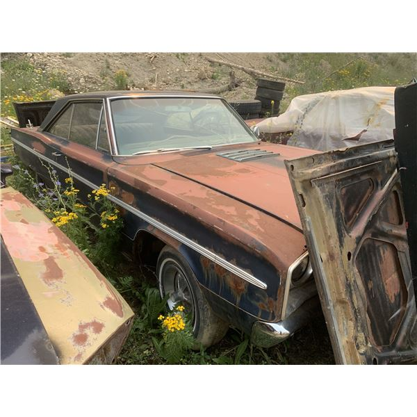 1966 Dodge Coronet - was 383 4speed car, shell, exellent project