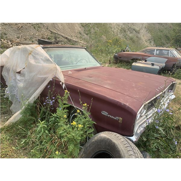 1966 Dodge Coronet 500 Convertible - was 838 buckets/console car, 1 of 550