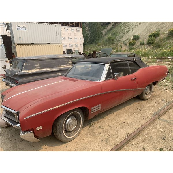 1968 Buick Skylark Convertible - runs, drives, easy project