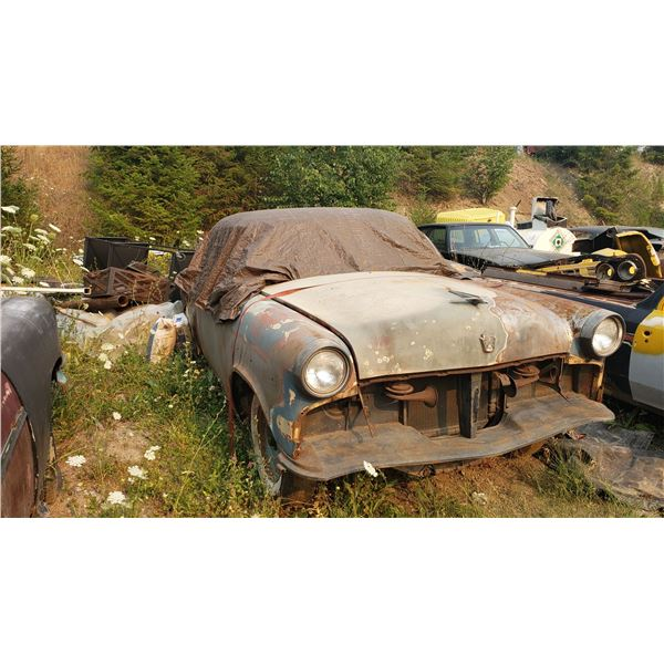 1954 Ford Skyliner - glass top, solid project