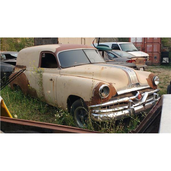 1953-4 Pontiac Sedan Delivery - parts or restore