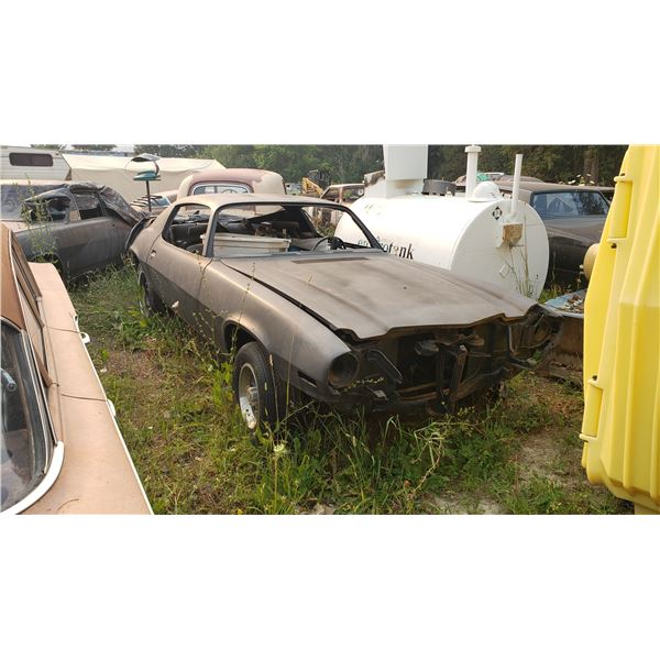 1970 Chevy Camaro RS - shell, comes w/ all body panels to finish, was hugger orange, black interior