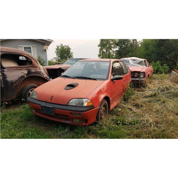 1991 Firefly - turbo coupe, runs