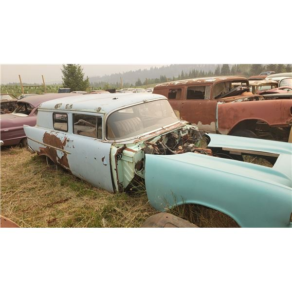 1957 Chevy Sedan Delivery - shell, part or restore