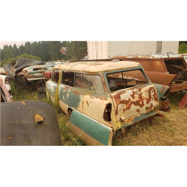 1956 Chevy Wagon - 2dr, good body