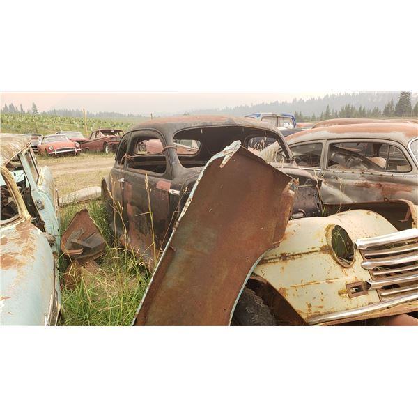 1946 Plymouth Business Coupe - solid body, have all body panels