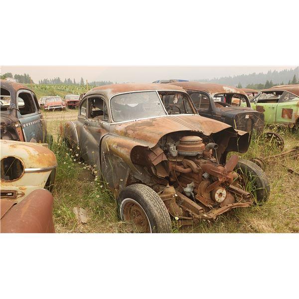 1950 Pontiac Torpedoback - parts or restore