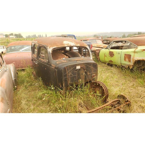 1937 Chevy 2dr Sedan - shell
