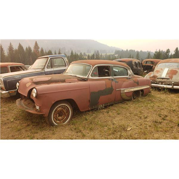 1953-4 Chevy Belair - 4dr, parts car