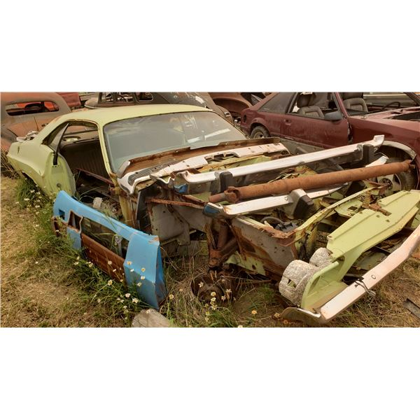 1972 Dodge Challenger - shell, fairly solid