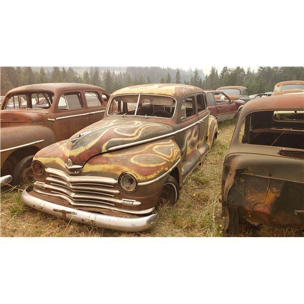 1947-8 Dodge 4 dr - parts car