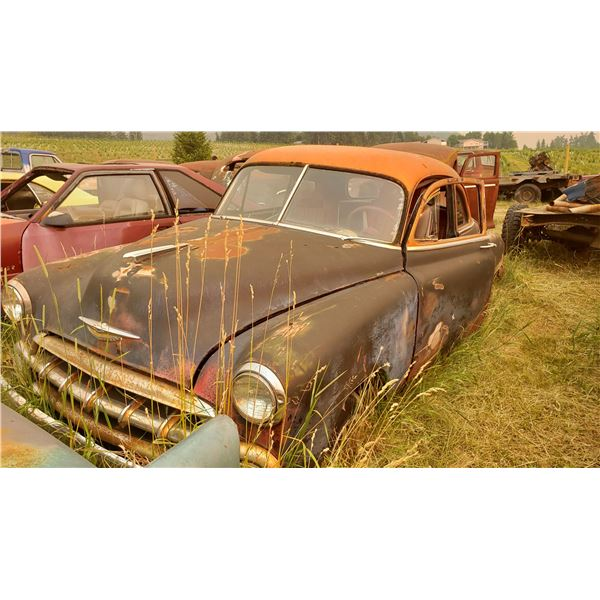 1950 Chevy Coupe - with 52 front clip - good project