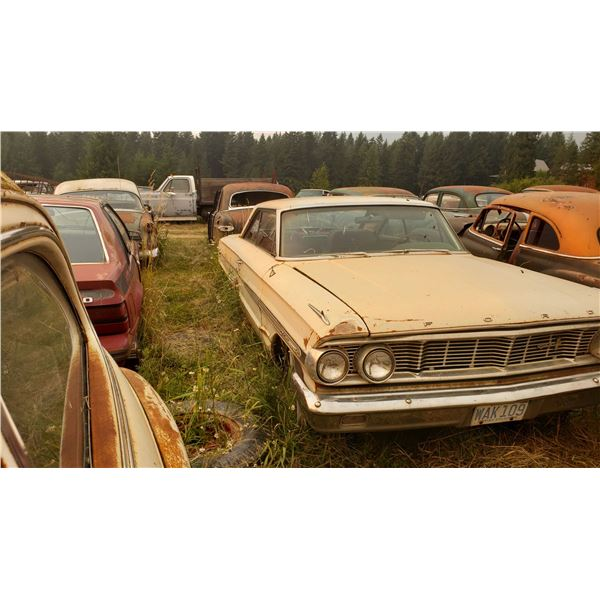 1964 Ford Galaxie 500 XL - parked since 1977, 352, buckets/console