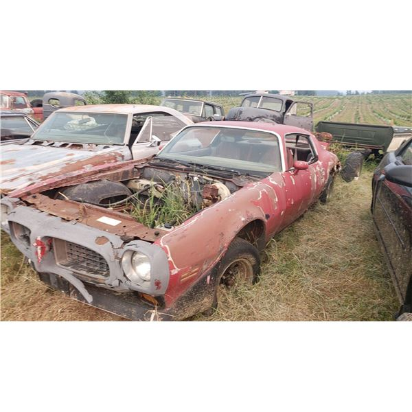 1972 Pontiac Firebird - shell, was 400 car, parts or restore