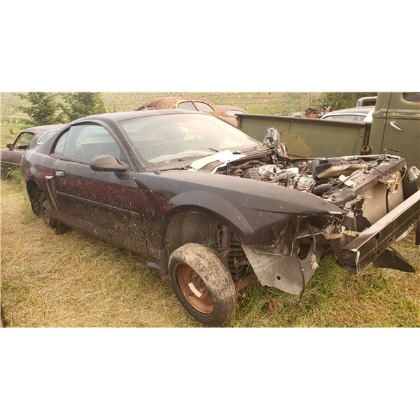 2004 Ford Mustang GT - parts car, has 5 speed, buckets, posi (LSD), hit hard in front