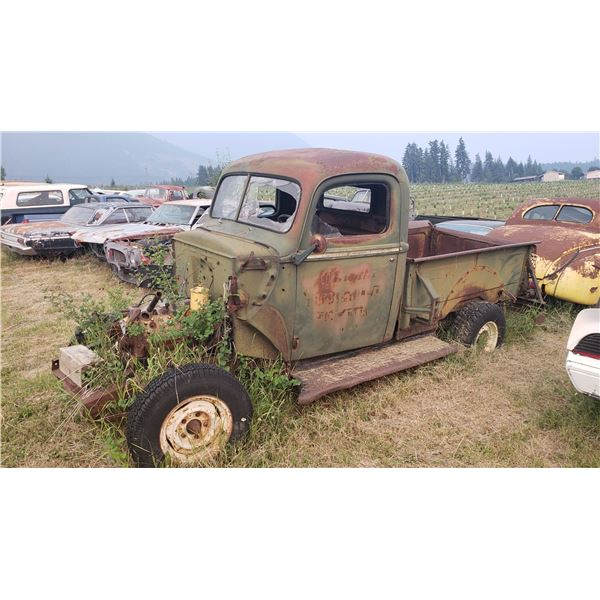 1947 Ford Pickup - cab and chassis