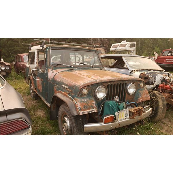 1972 Willy's Jeepster - comes with new quarter panels (uninstalled)