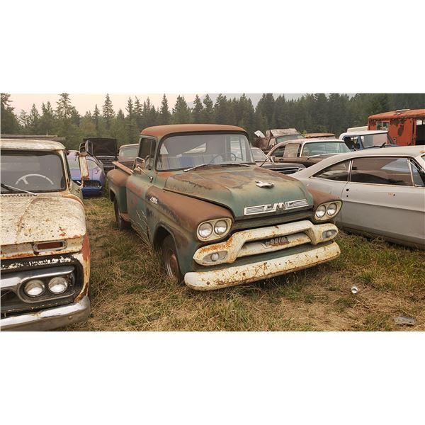 1959 GMC truck - exellent shape, minor rust, might run