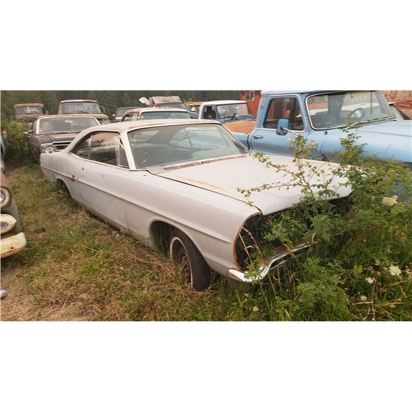 1967 Ford Galaxie 500 Fastback - was factory 390, 4 speed, has console and pedals