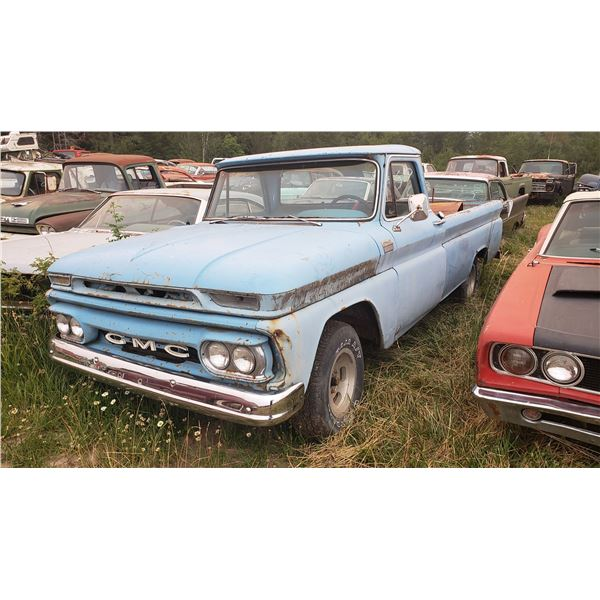 1965 GMC Custom Cab - no transmission, might run