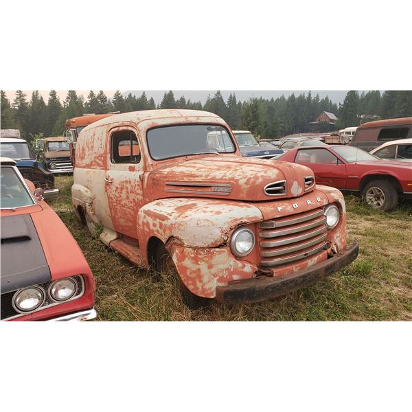 1950 Ford Panel - rough