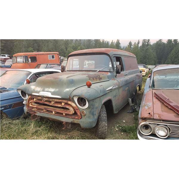 1957 Chevy Panel - exellent shape