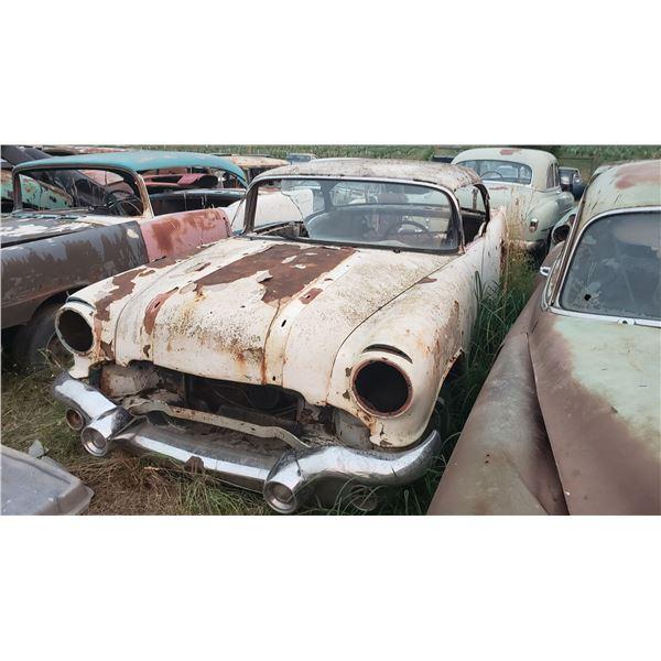 1956 Pontiac - 2dr hardtop, shell, good project