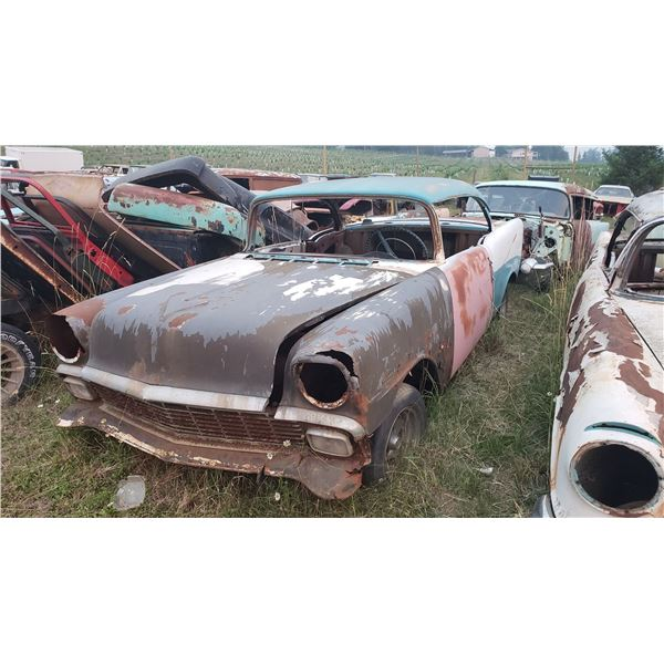 1956 Chevy - 2dr hardtop, shell