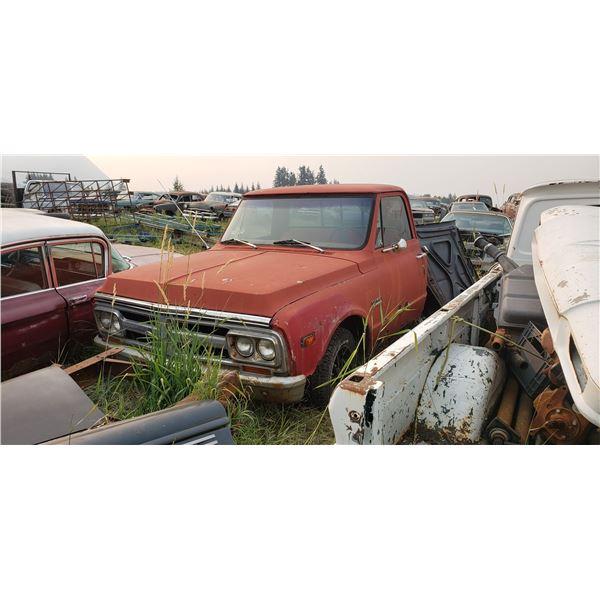 1967-72 GMC truck - parts truck