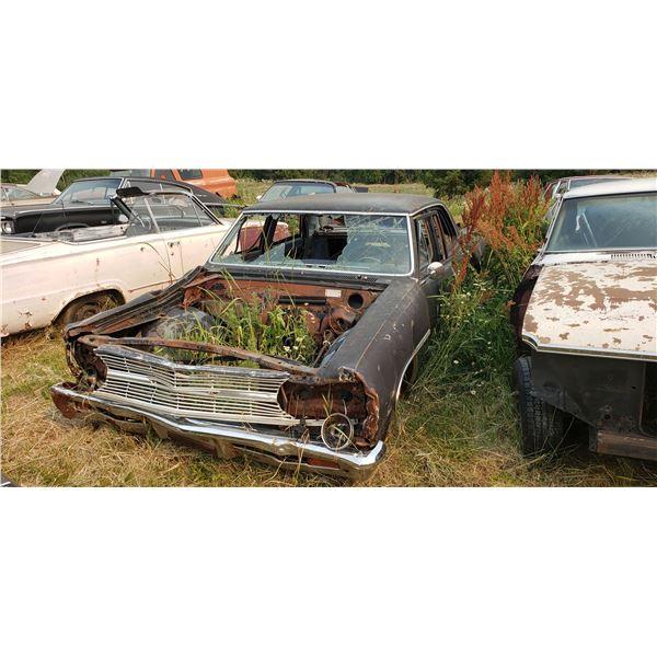 1965 Chevy Malibu - 4dr, parts car