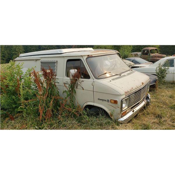 Chevy Camper Van - has running gear